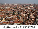 an elevated or aerial view over ... | Shutterstock . vector #1145556728