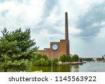 berlin  germany   july 28  2018 ... | Shutterstock . vector #1145563922