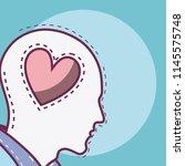 human mind concept   Shutterstock .eps vector #1145575748