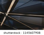 metal in modern architecture.... | Shutterstock . vector #1145607908