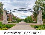 west lafayette  in usa  ... | Shutterstock . vector #1145610158