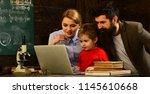 teacher has his own love of...   Shutterstock . vector #1145610668