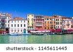 venice  italy   october 13 ... | Shutterstock . vector #1145611445