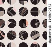 Abstract Geometric Circle Grid...