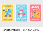world breastfeeding week cards...   Shutterstock .eps vector #1145642342