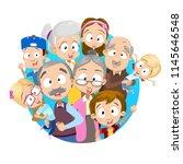 vector cartoon illustration of... | Shutterstock .eps vector #1145646548
