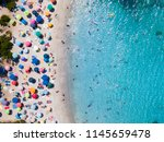 view from above  aerial view of ... | Shutterstock . vector #1145659478