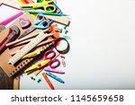 education  back to school ... | Shutterstock . vector #1145659658
