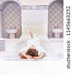 hammam morocco spa | Shutterstock . vector #1145663252