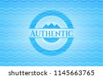 authentic water wave concept... | Shutterstock .eps vector #1145663765
