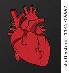 vector heart illustration...   Shutterstock .eps vector #1145706662