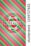 nostalgia christmas colors... | Shutterstock .eps vector #1145727632
