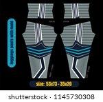 leggings pants fashion... | Shutterstock .eps vector #1145730308