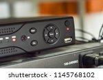 working digital video recorder... | Shutterstock . vector #1145768102