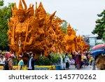 ubon ratchathani  thailand  ...   Shutterstock . vector #1145770262