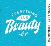 inspirational quote  motivation.... | Shutterstock .eps vector #1145783012