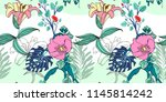original trendy seamless... | Shutterstock .eps vector #1145814242