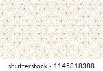 the geometric pattern with... | Shutterstock .eps vector #1145818388