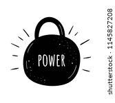 vector illustration power.... | Shutterstock .eps vector #1145827208