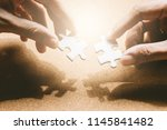 business solutions and success... | Shutterstock . vector #1145841482