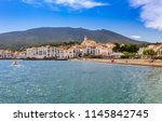 sea landscape with cadaques ...   Shutterstock . vector #1145842745