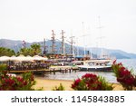 beautiful turkey. city of... | Shutterstock . vector #1145843885