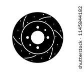 car brake disc | Shutterstock .eps vector #1145844182