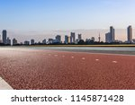 panoramic skyline and modern... | Shutterstock . vector #1145871428