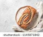 butter free sugar free banana... | Shutterstock . vector #1145871842