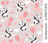 Seamless Panda Pattern...