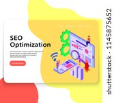 seo optimization landing page...