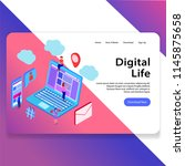digital life landing web...