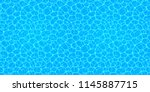 swimming pool seamless texture. ... | Shutterstock .eps vector #1145887715