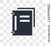 folder vector icon isolated on... | Shutterstock .eps vector #1145909882