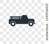 pick up vector icon isolated on ... | Shutterstock .eps vector #1145916425