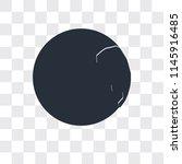 worldwide vector icon isolated... | Shutterstock .eps vector #1145916485