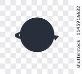 worldwide vector icon isolated... | Shutterstock .eps vector #1145916632
