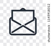 email vector icon isolated on... | Shutterstock .eps vector #1145918312