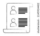 business document design | Shutterstock .eps vector #1145924402