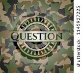question on camo pattern | Shutterstock .eps vector #1145927225