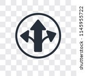 turn right arrow vector icon...   Shutterstock .eps vector #1145955722