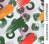a seamless pattern consisting... | Shutterstock .eps vector #1145964368