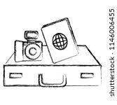 camera photographic with...   Shutterstock .eps vector #1146006455