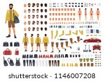 caucasian man constructor or... | Shutterstock .eps vector #1146007208