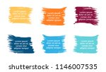 vector brush banners... | Shutterstock .eps vector #1146007535