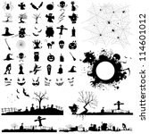 illustration of set of... | Shutterstock .eps vector #114601012