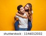 photo of happy couple having... | Shutterstock . vector #1146012032