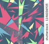 abstract seamless grunge urban... | Shutterstock .eps vector #1146036935