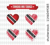 trinidad and tobago with love.... | Shutterstock .eps vector #1146049385