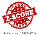 z score seal print with... | Shutterstock .eps vector #1146049985